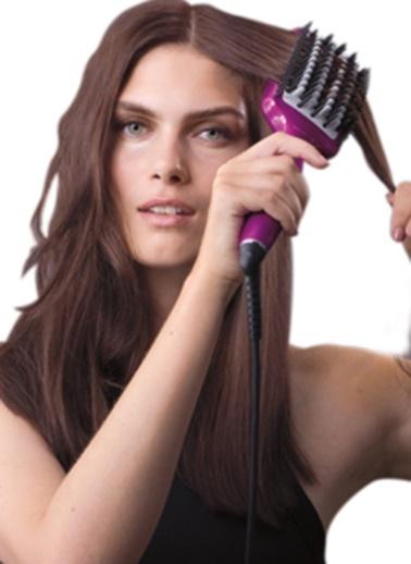 HSB100E Liss Brush 3D Düzleştirici Saç Fırçası-Babyliss